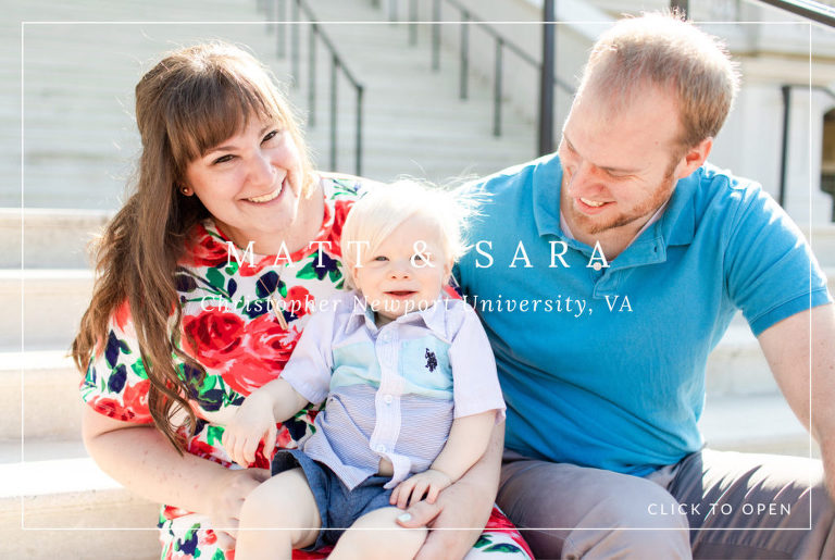 Christopher Newport University, Newport News, Virginia, family session, Diana Gordon Photography, photo
